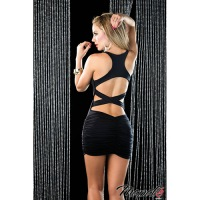 Ruched Mini Racerback Dress 4183