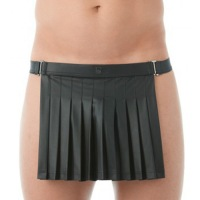 Gregg Black Kilt Thong